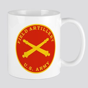 Field Artillery Seal Plaque Mugs